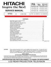 Buy Hitachi 50VF82-LC58- 50VG825-LC58E-55VF820-LC58- 55VG825-LC58E Service Manual by down
