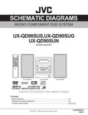 Buy JVC UX-QD90S-3 Service Manual by download Mauritron #284448