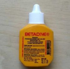 Buy 1 Bot Betadine First Aids Wound Cut Povidone Solution Iodine