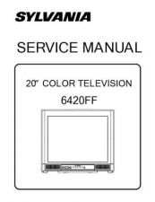 Buy Emerson 6420FF Service Manual by download Mauritron #330539
