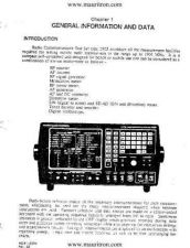 Buy Marconi 2955 General Information by download Mauritron #328628