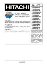 Buy Hitachi VT-P90-100GK Service Manual by download Mauritron #285932