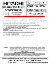 Buy Hitachi 51F710E by download Mauritron #288250