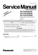 Buy Panasonic KX-TCA121ES][][][ Manual by download Mauritron #299650