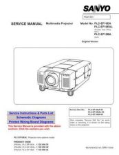 Buy Sanyo PLC-EF10 Operating Guide by download Mauritron #337758