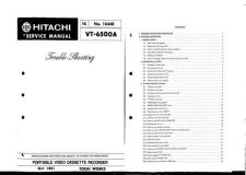 Buy Hitachi 19VR11B Service Manual by download Mauritron #287598