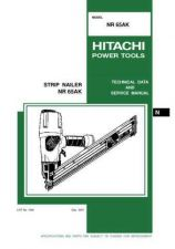 Buy Hitachi NR90AC Tool Service Manual by download Mauritron #320101