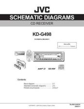 Buy JVC KD-G498-5 Service Manual by download Mauritron #281969