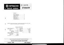 Buy Hitachi CT4275B Service Manual by download Mauritron #289605