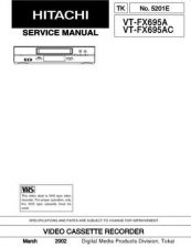 Buy Hitachi VTM133A1 Service Manual by download Mauritron #287317
