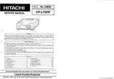Buy Hitachi YK-0485E Service Manual by download Mauritron #287531