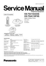 Buy Panasonic TG1103CE_FINAL Manual by download Mauritron #302273