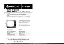Buy Hitachi CT938 Service Manual by download Mauritron #285175