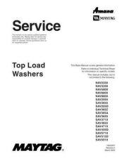 Buy Amanda SAV-365A Top Load Washer Manual by download Mauritron #325778