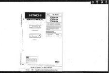 Buy Hitachi VTFX665A Service Manual by download Mauritron #285786