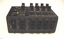 Buy Signal Flex 4 Channel Micro mini Stereo Mixer MM80 multi processor MM-80