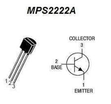 Buy Transistor - MPSA2222A NPN (TO-92) - 28 Pieces