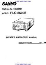 Buy Sanyo PLC-XU35 Manual by download Mauritron #321108