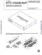 Buy Kenwood KTCV500 by download Mauritron #326195