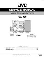 Buy JVC UX-J55V-2 Service Manual by download Mauritron #284381