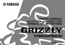 Buy Yamaha 5GT-28199-62 Quad ATV Bike Manual by download #334415