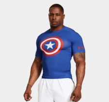 Buy UNDER ARMOUR Men's Alter Ego Compression Shirt; NWT Size - L; Are You STRONG?