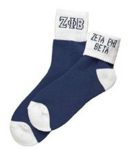 Buy Zeta Phi Beta Socks