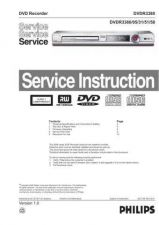 Buy Philips DVDR3380 Ver 1 Manual by download Mauritron #327754