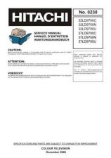 Buy Hitachi 37LD9700N Service Manual by download Mauritron #323114