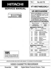 Buy Hitachi VT9500A1 Service Manual by download Mauritron #285654