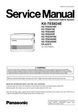 Buy Panasonic TES824CESUP1 Manual by download Mauritron #302245