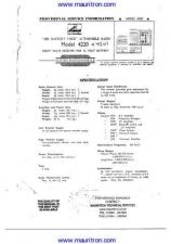 Buy HMV 4220 Manual by download Mauritron #307363