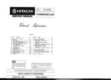 Buy Hitachi VTM291A Service Manual by download Mauritron #287363