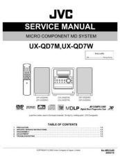 Buy JVC UX-P7 schm Service Manual by download Mauritron #284442