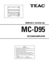 Buy Teac MC-DX32i Service Manual by download Mauritron #319445