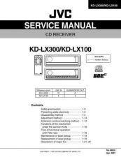 Buy JVC KD-LX100J schem Service Manual by download Mauritron #282076
