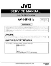 Buy JVC AV-14FN11 Service Manual by download Mauritron #279488