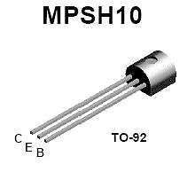 Buy Transistor - MPSH10 NPN (TO-92) - 18 Pieces