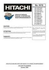 Buy Hitachi 37LD8600 Service Manual by download Mauritron #287882