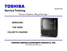 Buy Toshiba CTV04F TV Service Manual by download Mauritron #323059
