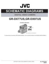 Buy JVC GR-DX77-97SCH Service Manual by download Mauritron #274284