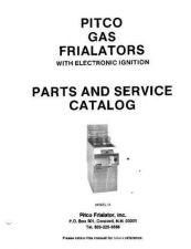 Buy Pitco Pre1984 Gas Manual by download Mauritron #329702