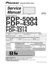 Buy Panasonic PDP-4304-KUCXC Manual by download Mauritron #300933