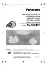 Buy Panasonic NV-GS60EG NV-GS60EP Manual by download Mauritron #300788