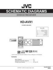 Buy JVC KD-AVX1JD sch Service Manual by download Mauritron #281779