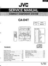 Buy JVC CA-DT4 Service Manual by download Mauritron #281347