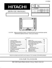 Buy Hitachi C1414T Service Manual by download Mauritron #288602