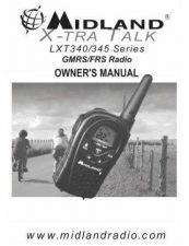 Buy Midland LXT340VP3 2 Way Radio Operating Guide by download Mauritron #317565