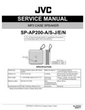 Buy JVC XC024 Service Manual by download Mauritron #278404