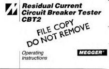 Buy Biddle CBT2 Operating Guide by download #335836